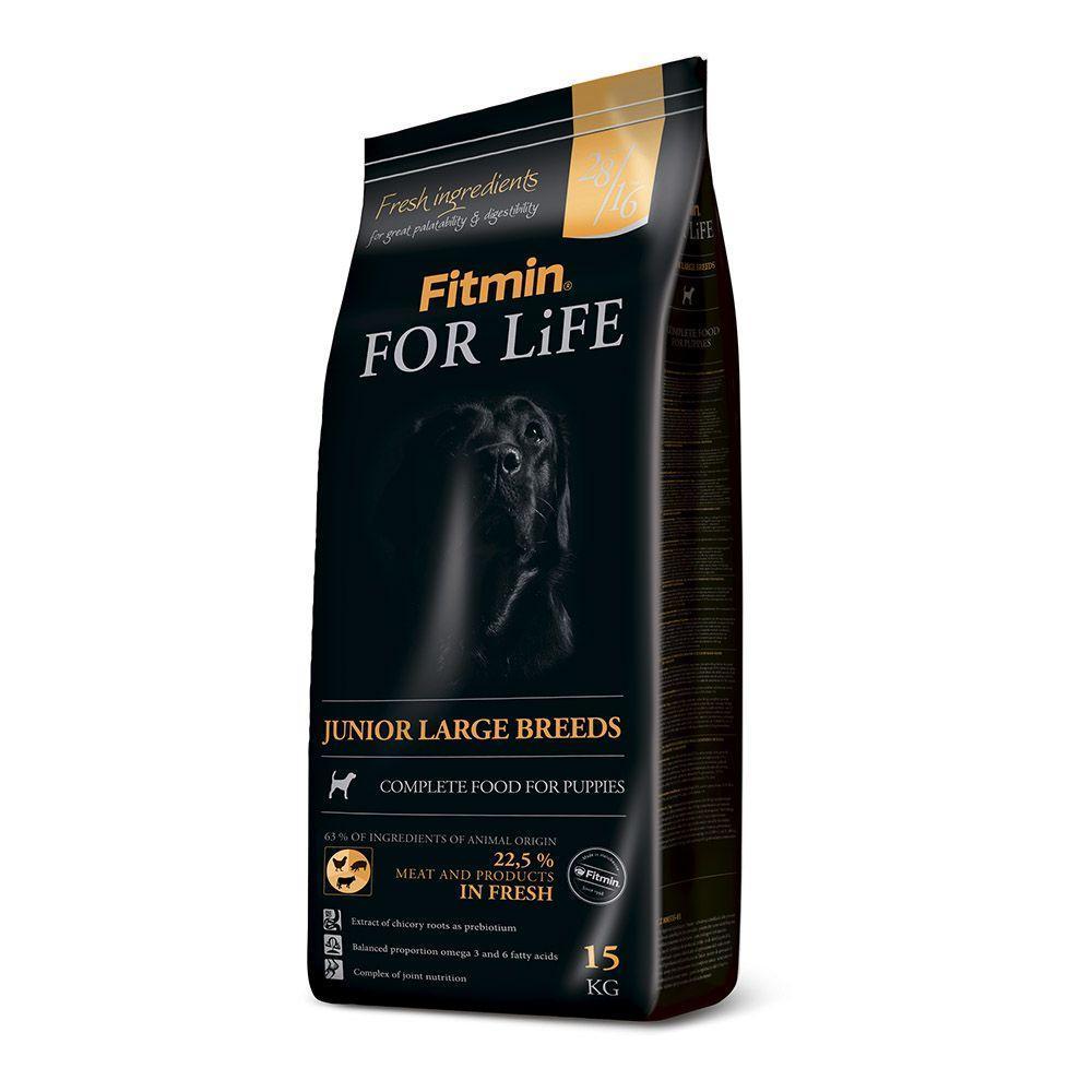 Сухой корм для собак Fitmin dog For Life Junior large breed 3 кг