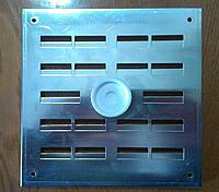 Решетка вентиляционная алюминиевая регулируемая АР 160*160