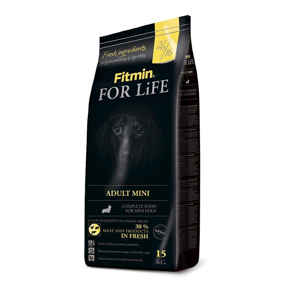 Сухой корм для собак Fitmin dog For Life adult mini 3 кг