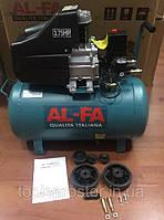 Компрессор AL-FA ALC02 : 2.8 кВт - 50 л.   Гарантия 1 год