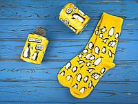 Консервовані шкарпетки Стильні пінгвіни