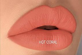 Matt Lip Crayon Hot Coral (матовая помада-карандаш, цвет: Hot Coral), 1,7г Kodi
