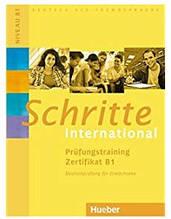 Книга Schritte international Prüfungstraining Zertifikat B1