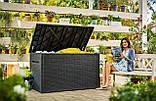 Садовый чулан, сундук для хранения Keter Java Storage Box 850 L, фото 10