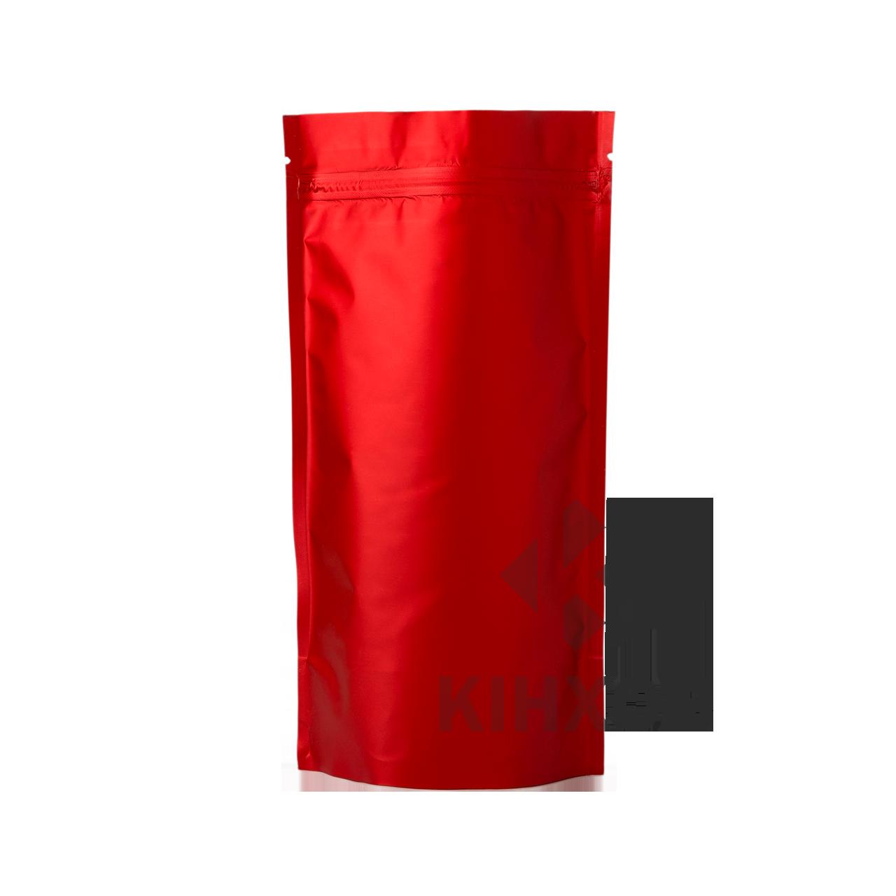 Пакет Дой-Пак красный 80*130 дно (33+33)