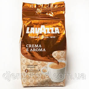 Кофе в зернах Lavazza Crema e Aroma, 1 кг, арабика - 40%,робуста - 60 % Оригинал