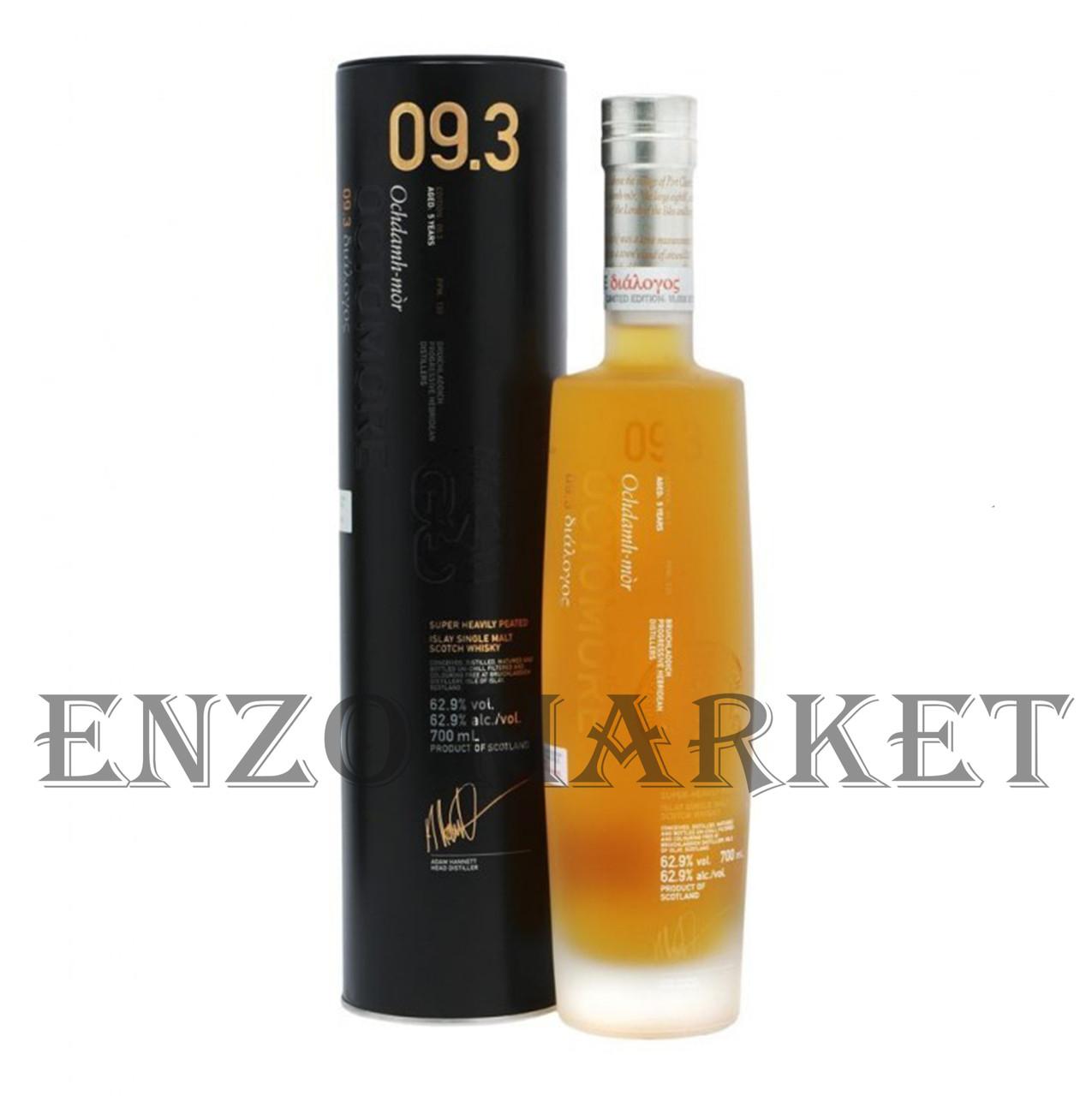 Виски Bruichladdich Octomore Scottish Barley 09.3 (Брукладди Октомор Скотиш Барли) 62.9%, 0,7 литра