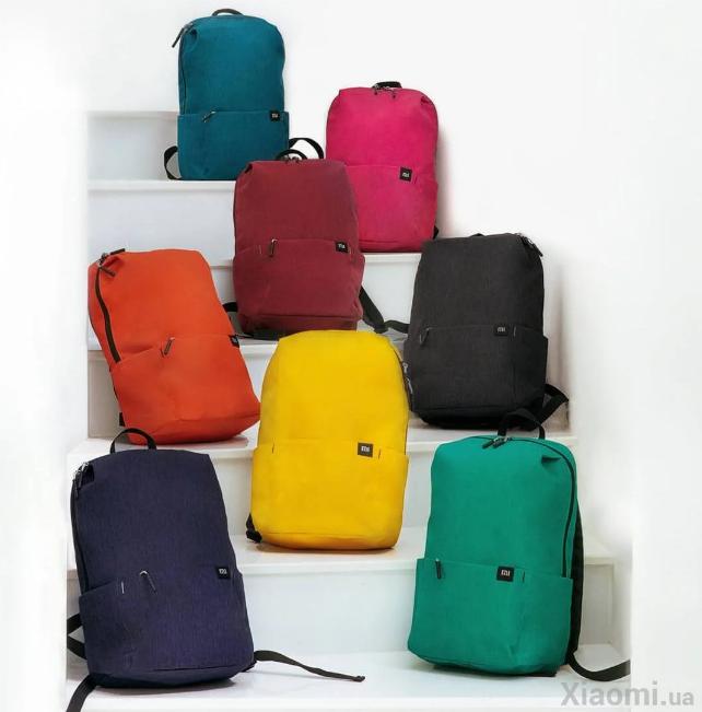 Рюкзак Xiaomi Mi Colorful Small Backpack   AG470010 РАЗНЫЕ ЦВЕТА