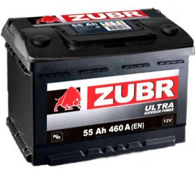 Акумулятор Zubr ULTRA 75Ah 760A 12V R Євро Необсл.