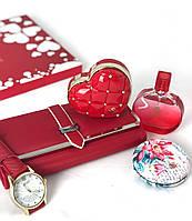 Женский подарочный набор Jesou № 31 Квадратный Красный
