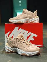 Женские кроссовки в стиле Nike M2K Tekno пудра, фото 2