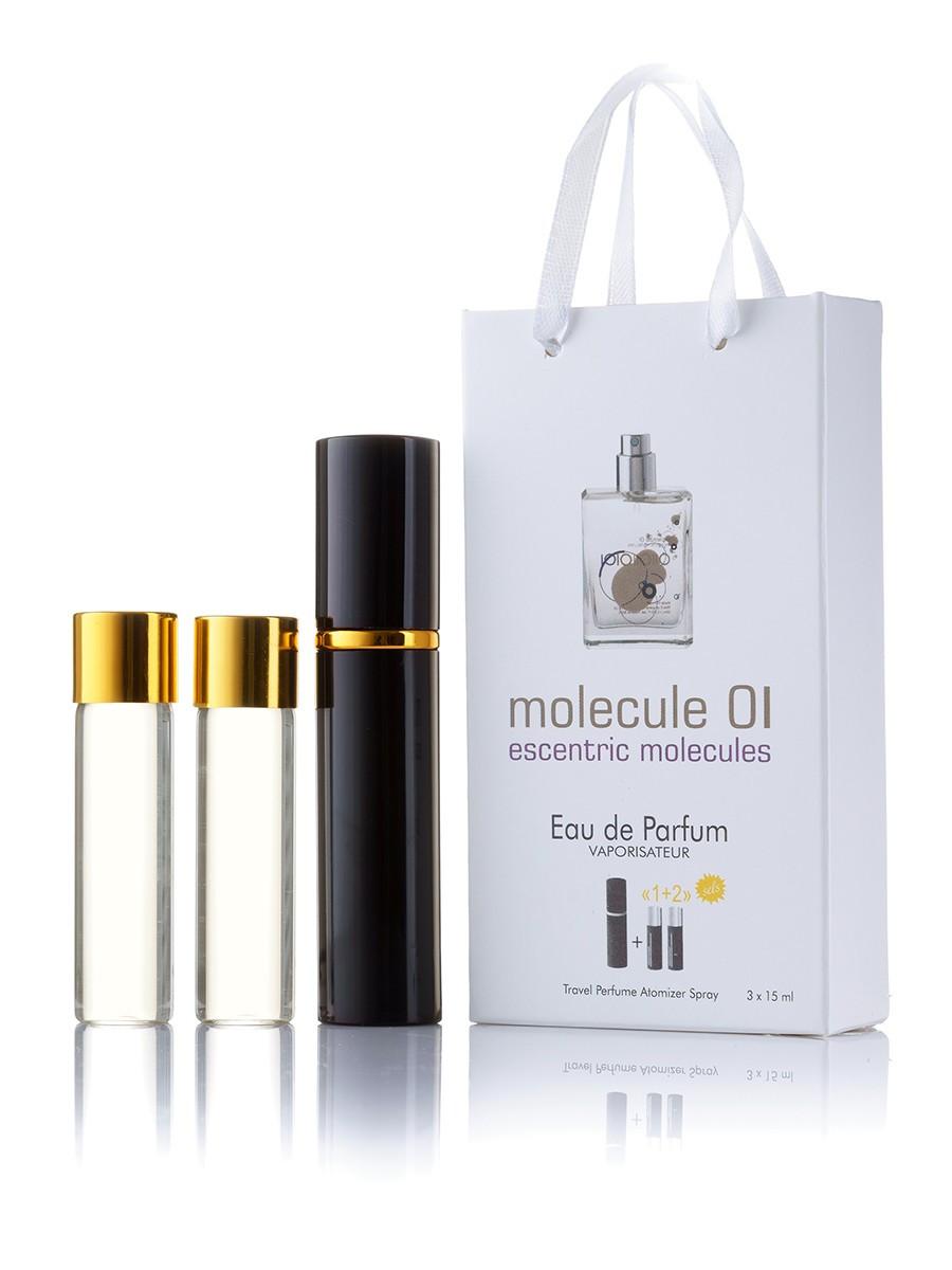 Мини-парфюм с феромонами унисекс  ESCENRTIC MOLECULES Escentric 01 3х15 мл