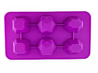 Форма силиконовая для конфет Драгоценные камни 2