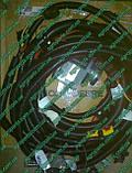 Термомуфта RE164619 John Deere Viscous Fan Drive запчасти вискомуфта re164619, фото 5