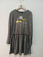 Легкое и теплое детское платье Kiabi, Франция