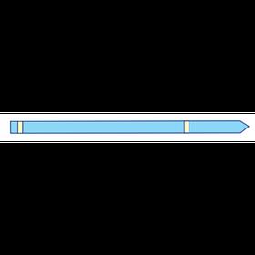 Чохол для шнура 200х15см (поліетилен) стерильний