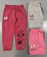 Спортивные брюки для девочек Disney, 98/104-134 рр . Артикул: 92564 {есть:110,116,122,128,98/104}