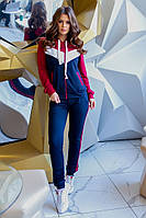 Спортивный костюм женский.Отличное качество! НОРМА 42-46 (3расцв), фото 1