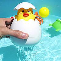 """Лейка игрушка для ванны """"Яйцо с цыпленком"""""""