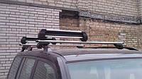 Автомобильное крепление на крышу для перевозки лыж и сноубордов, багажник для лыж с замком