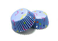 Тарталетки бумажные Праздник 5х3 см 1000 шт