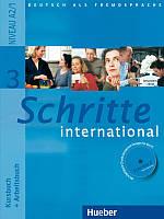 Учебник Schritte international 3 Kursbuch + Arbeitsbuch mit Audio-CD zum Arbeitsbuch und interaktiven Übungen