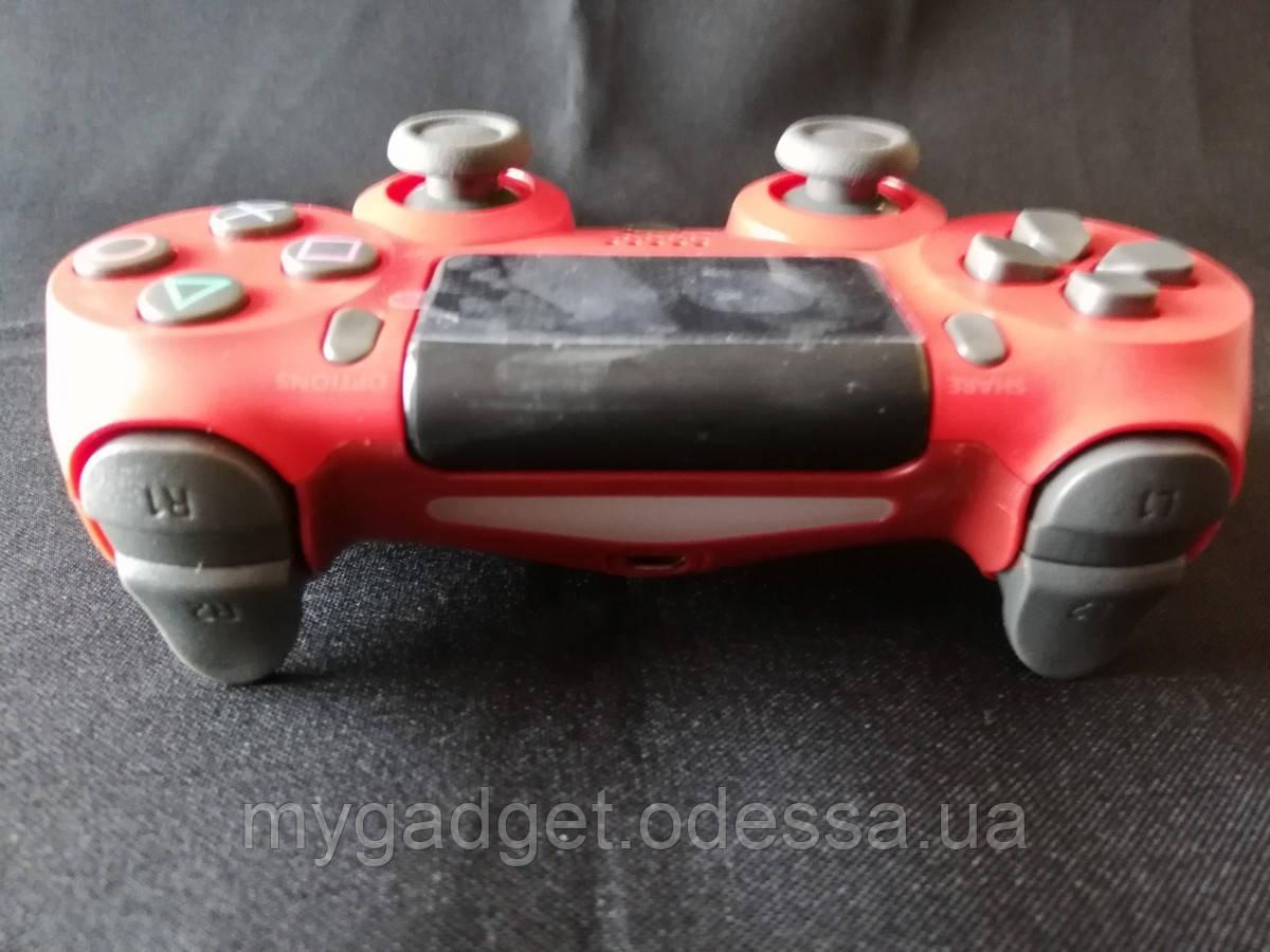 """Игровой геймпад для """"PS4 DUALSHOCK 4"""" DoubleShock\красный"""