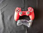 """Игровой геймпад для """"PS4 DUALSHOCK 4"""" DoubleShock\красный, фото 2"""
