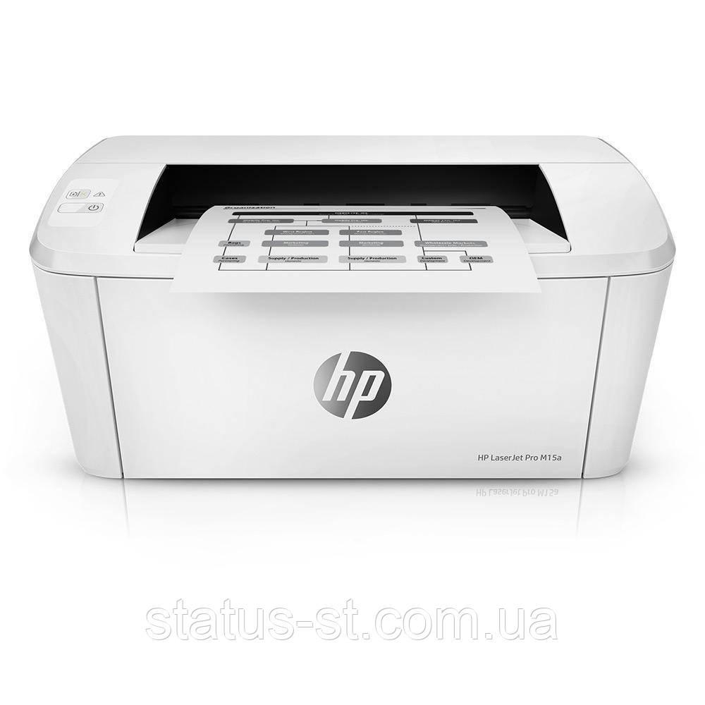 Ремонт принтера HP LaserJet Pro M15a, M15w в Києві
