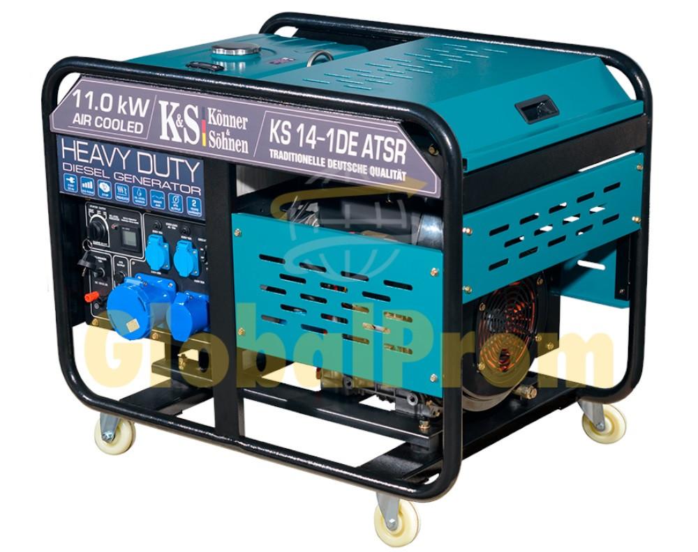 Дизельный генератор Könner & Söhnen KS 14-1DE ATSR
