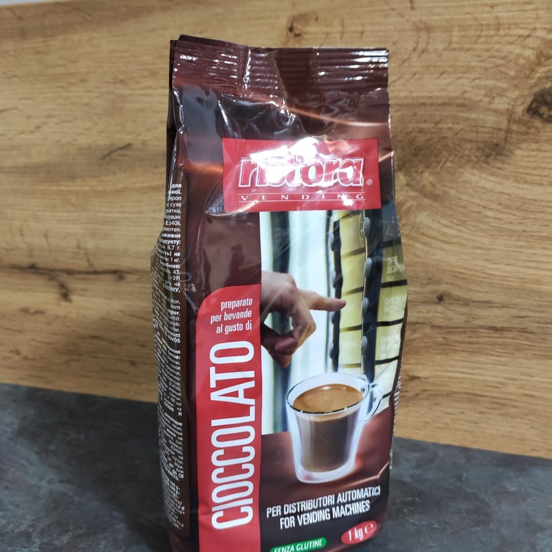 """Горячий Шоколад Ristora """"Ciocolate"""" 1кг.  Италия (Ристора)"""