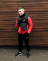 Комплект Куртка Трансформер + Штаны тёплые Барсетка + перчатки в подарок, фото 1