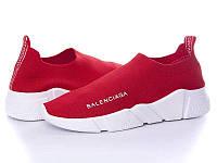Кроссовки Balenciaga женские красные (реплика)