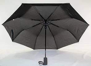 Зонт мужской полуавтомат с куполом 97 см Flagman черный. Анти-ветер, 8 спиц., фото 2