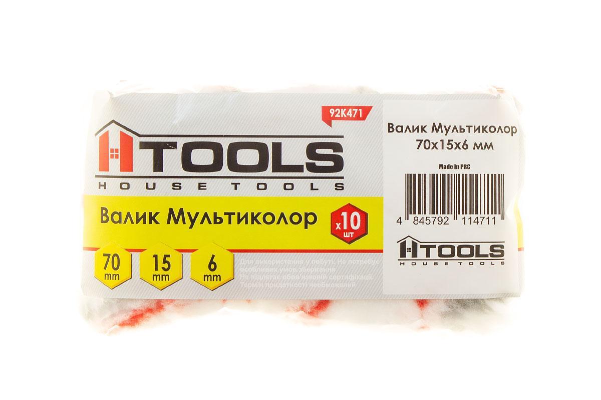 Валик Мультиколор 70*15*6 мм. HTools, 92K471