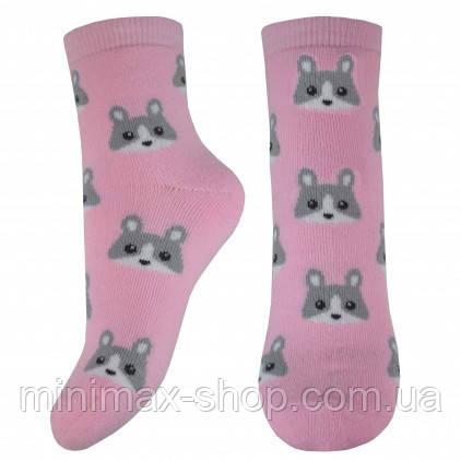 Носки детские Легка Хода 9237, розовый, р.6-8
