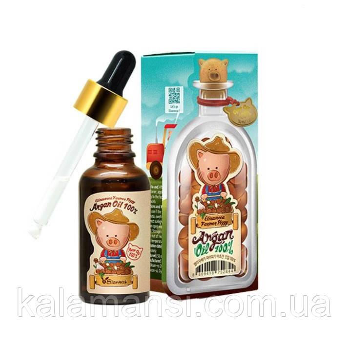 Увлажняющее масло арганы Elizavecca Farmer Piggy Argan Oil 100% 30 мл