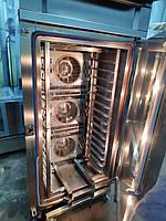 Печь хлебопекарная конвекционная 15 противней Wiesheu B15 IS 200 закатная тележка (Германия)