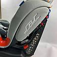 Автомобильное кресло El Camino TALISMAN ME 1065 группа 0+/1/2, 0-25 кг, Light Gray, ткань лен, фото 4