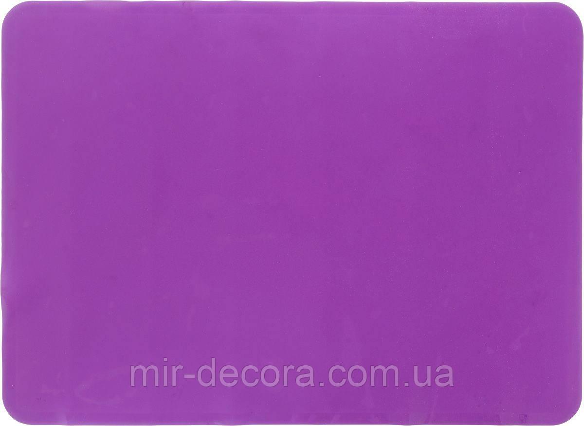 Коврик силиконовый для раскатки и выпечки 30х40 см гладкий
