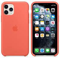 Чехол Silicone Case для iPhone 11 Pro Clementine (Orange) OEM