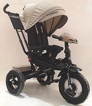 Велосипед детский трехколесный TURBOTRIKE  M 4060НА-7 лен