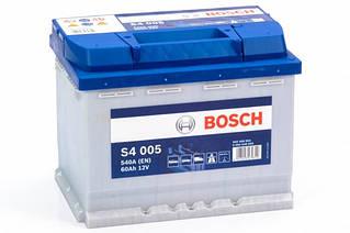 Аккумулятор BOSCH S4 023 45Ah 330A 12V L Азия (129x227x238)