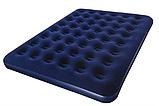BW Велюр матрац 67004 синій, 203-185-22см, фото 2