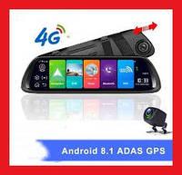 Зеркало - регистратор на Android 8.1. +  4G, ADAS, Full HD 1080P, WiFi,  GPS