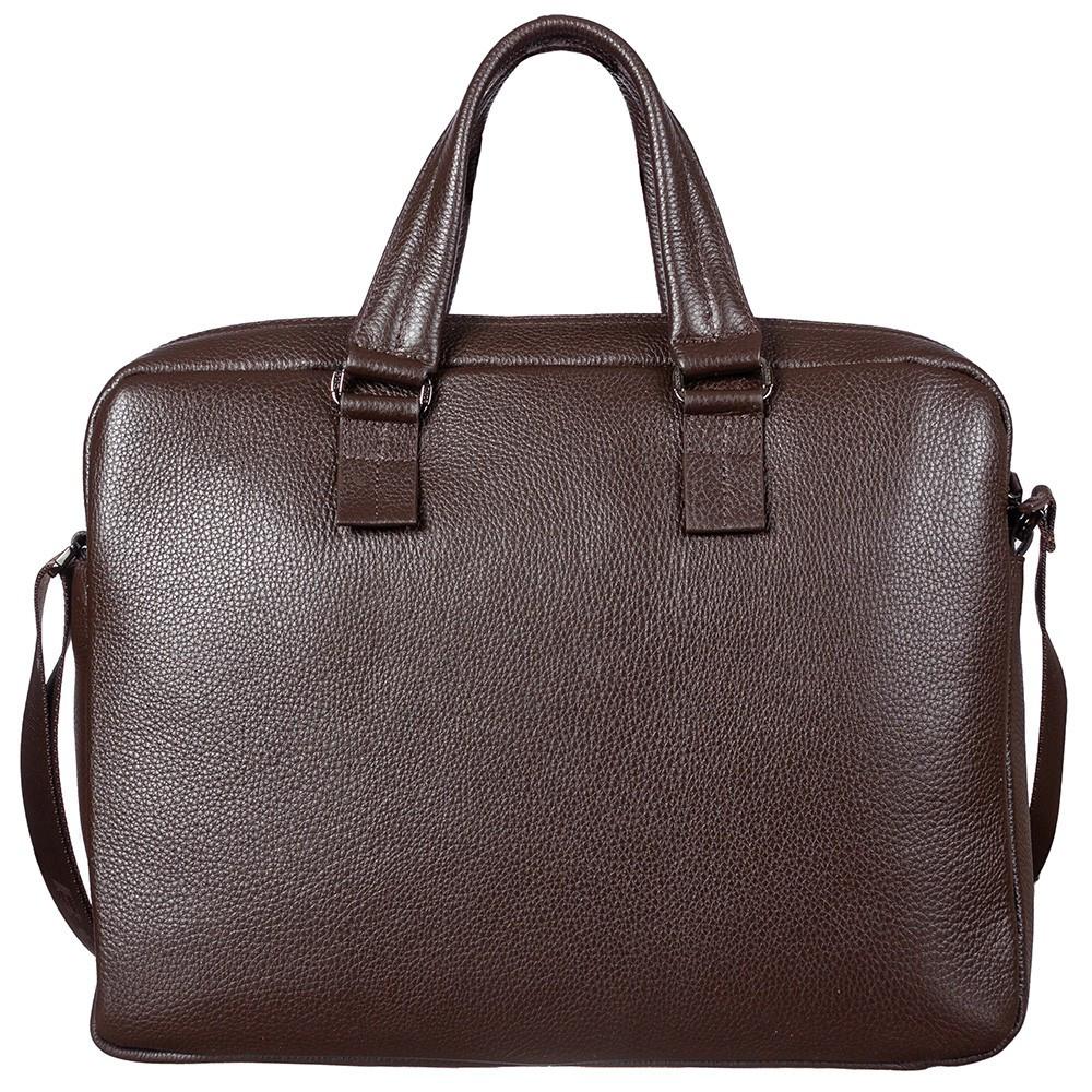Кожаная сумка для документов и ноутбука Bond