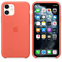 Чехол Silicone Case для iPhone 11 Clementine (Orange) OEM