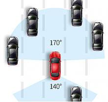 4G, ADAS Автомобільне дзеркало з вбудованим відеореєстратором Full HD 1080P, WiFi, GPS, фото 3