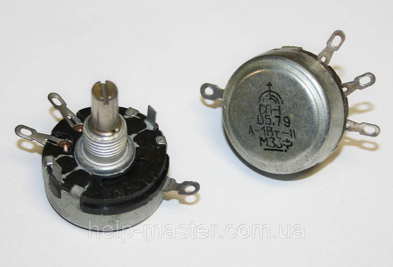 Переменный резистор СП-1 1Вт 330кОм