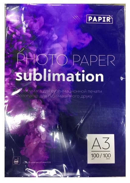 Фотобумага для сублимации PAPIR А3+ 100 г/м² (голубая подложка)
